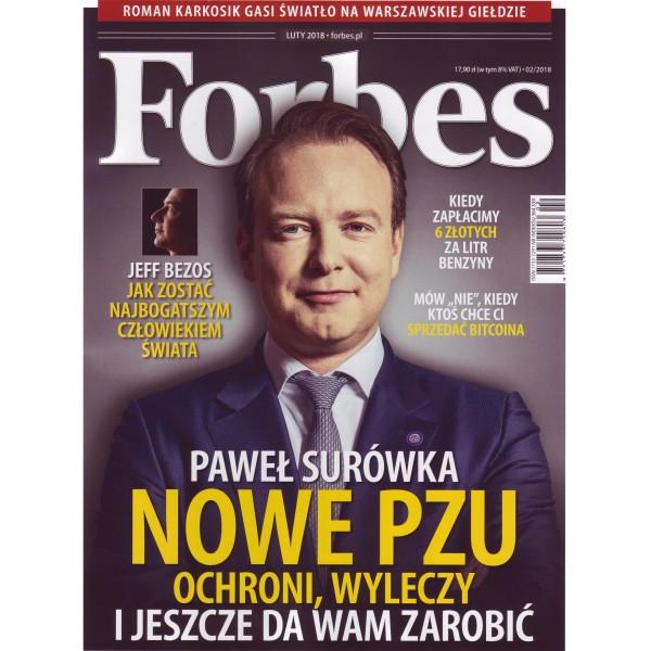 okładka Forbes